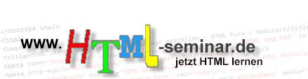 HTML Seminar